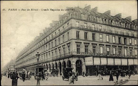 CREATION DES GRANDS MAGASINS A PARIS 38384010