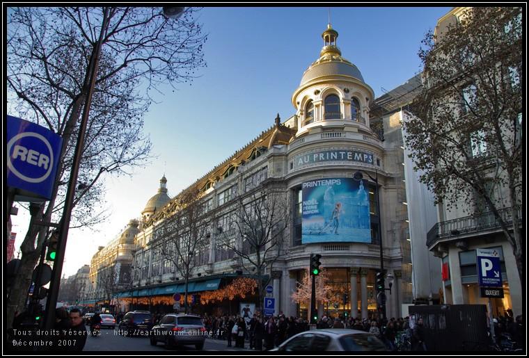 CREATION DES GRANDS MAGASINS A PARIS Imgp6510