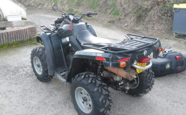 [vend can am 800 outlander] Bastos11