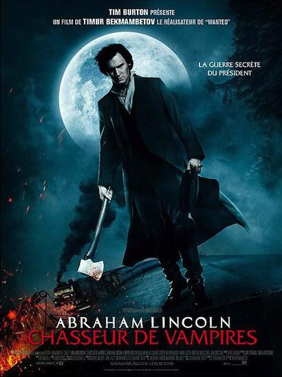 Abraham lincoln chasseur de vampires. Affich12