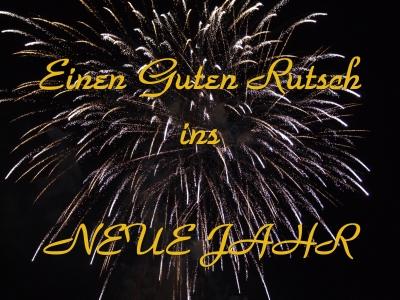 Guten Rutsch ins Neue Jahr Guten-11