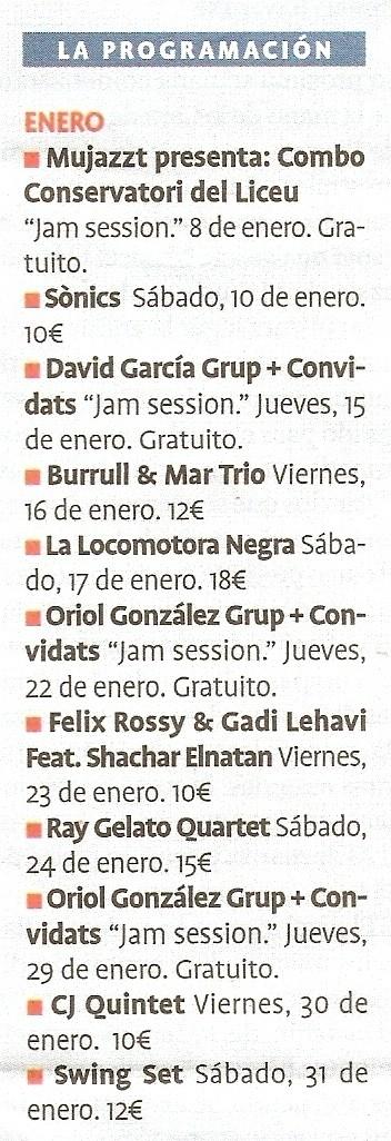 Ray Gelato Quintet Escane16