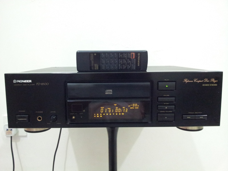 Pioneer PD-8500 Reference Series Top-Class CD-Player ( Used)  20150191