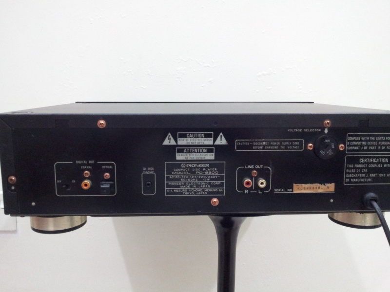 Pioneer PD-8500 Reference Series Top-Class CD-Player ( Used)  20150195