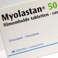 Le tétrazépam (Myolastan...) retiré en raison de très graves problèmes cutanés (Europe) 34712-10