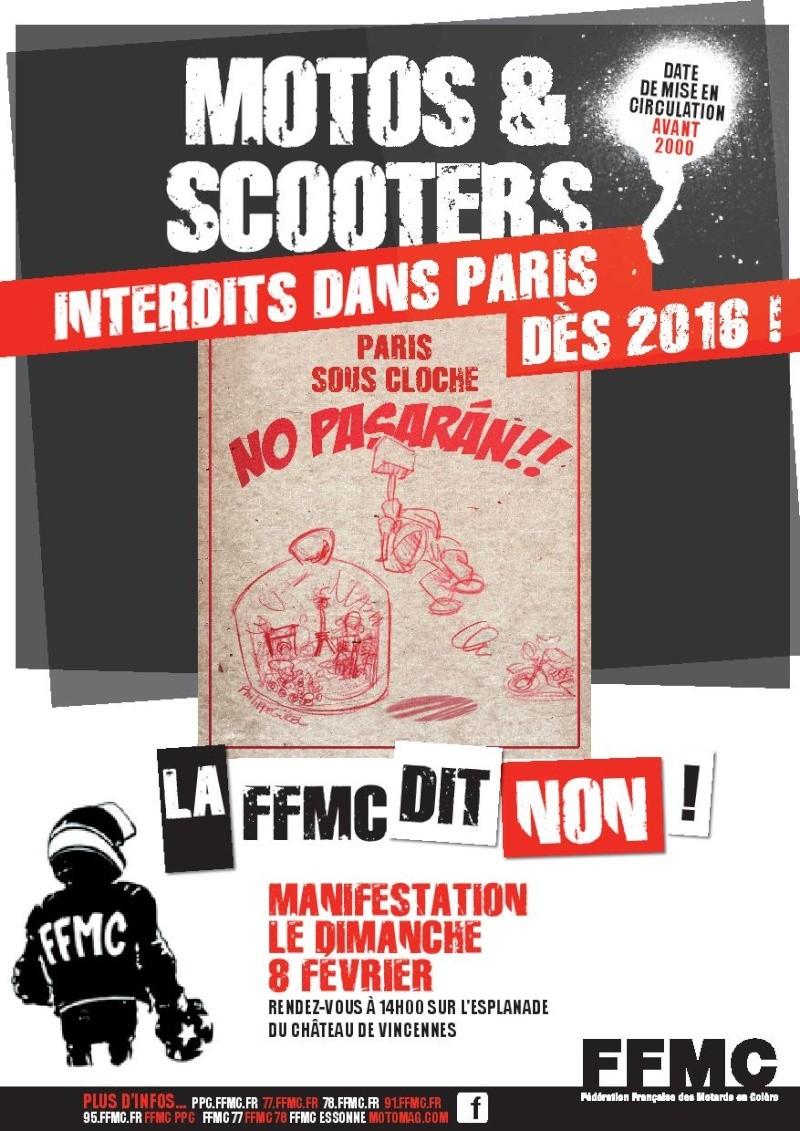 Manifestation à Paris Circul12