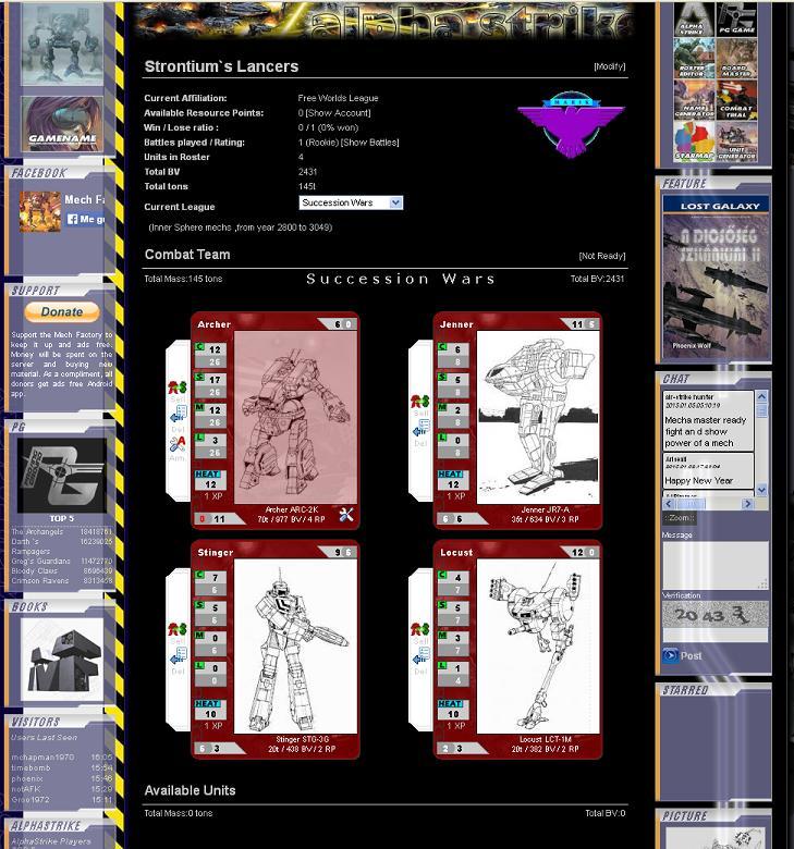 MechFactory: ALPHA STRIKE Alpha110