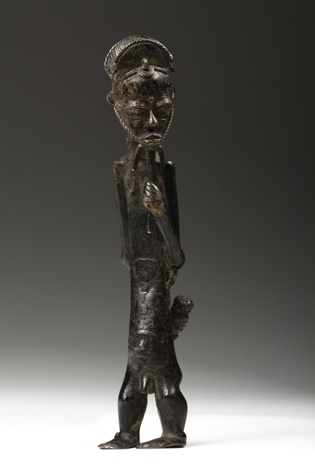 Baoulé people, Gold weight, Ivory Coast  110