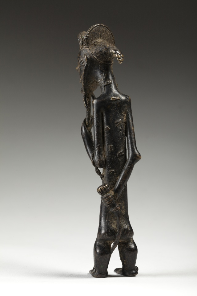 Baoulé people, Gold weight, Ivory Coast  310
