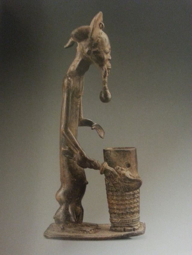 Baoulé people, Gold weight, Ivory Coast  Baule_10