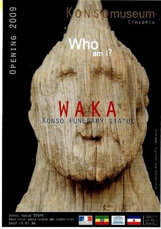Konso people, Sculpture funéraire  Waka, Province Gamo Gofa, Sud/Ouest  Éthiopie  Kkk10
