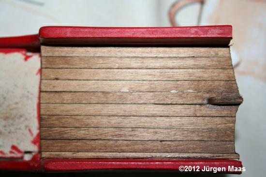 Segelschiff aus Holz ohne Maßstab Schiff10