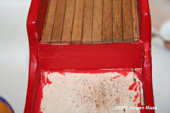 Segelschiff aus Holz ohne Maßstab Schiff11