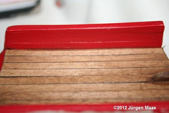 Segelschiff aus Holz ohne Maßstab Schiff12