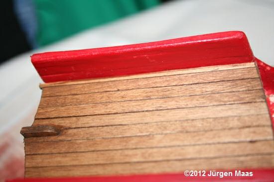 Segelschiff aus Holz ohne Maßstab Schiff13