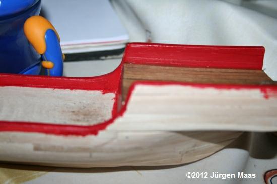 Segelschiff aus Holz ohne Maßstab Schiff14