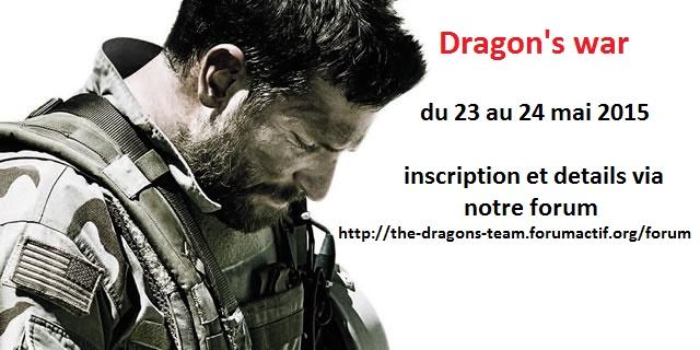 Dragon's War   du 23/05/15 Americ12