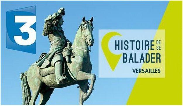 "France 3 IDF ""Histoire de se balader"" A Versailles Captur10"