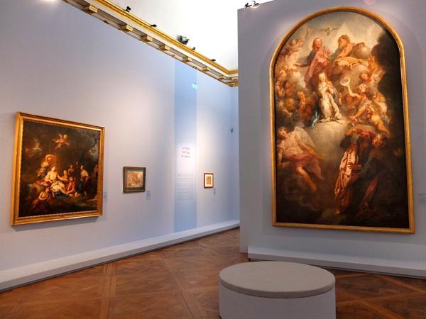 Exposition Charles de la Fosse en 2015 Delaf110