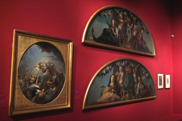 Exposition Charles de la Fosse en 2015 Delaf210