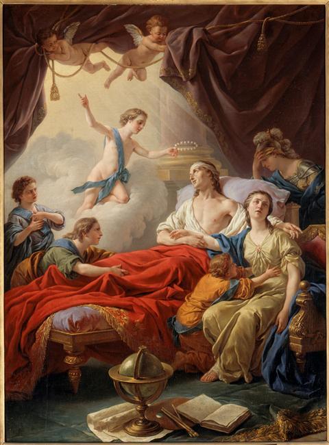 Fontainebleau : expo Le Dauphin, l'artiste et le philosophe Lagren10