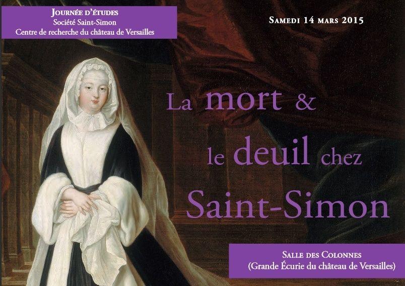 La mort et le deuil chez Saint-Simon (Versailles 14/03/2015) Mort_s10