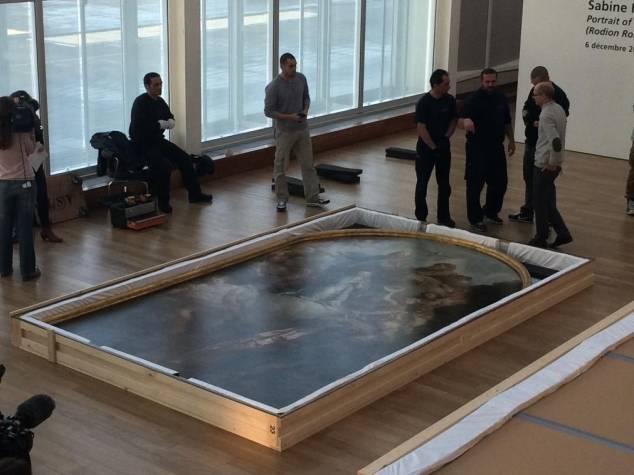 Exposition Charles de la Fosse en 2015 Muma10