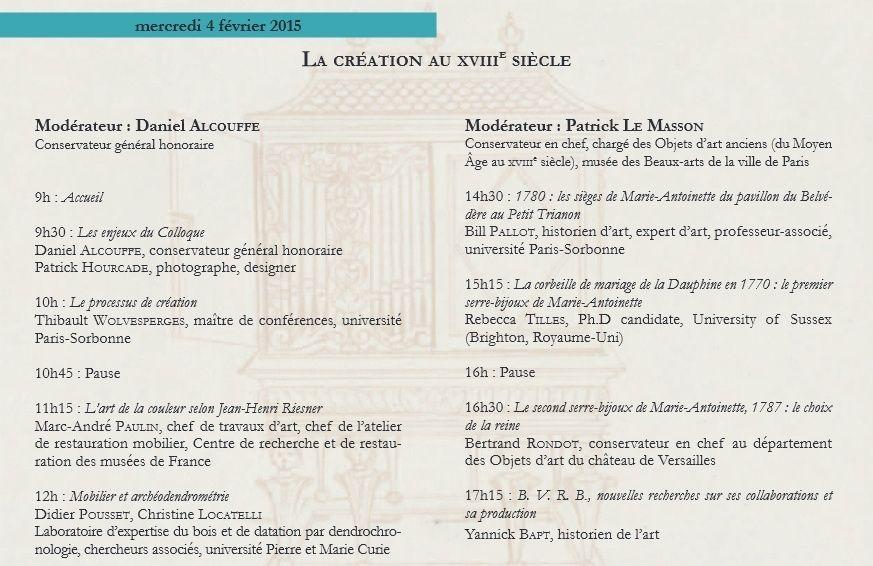 Nouveaux regards sur le mobilier français du XVIIIe siècle   Prog110
