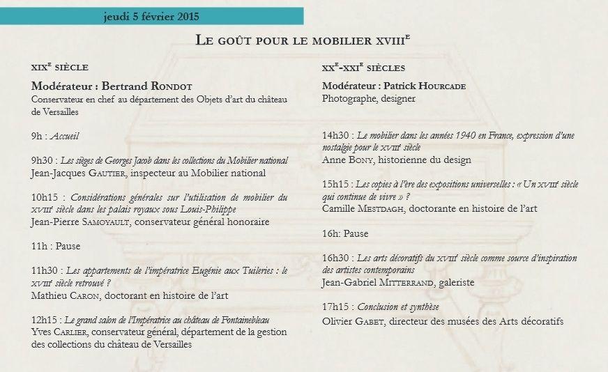 Nouveaux regards sur le mobilier français du XVIIIe siècle   Prog211