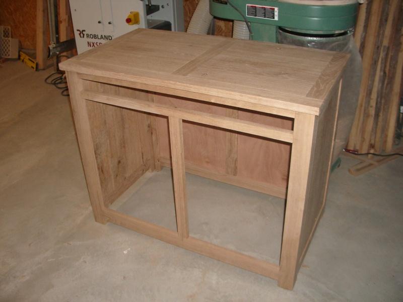 meuble en chêne et fer forgé pour l'ordi  Imgp6012