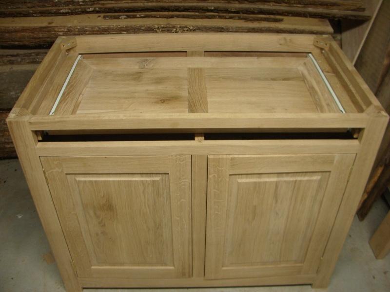 meuble en chêne et fer forgé pour l'ordi  Imgp6016