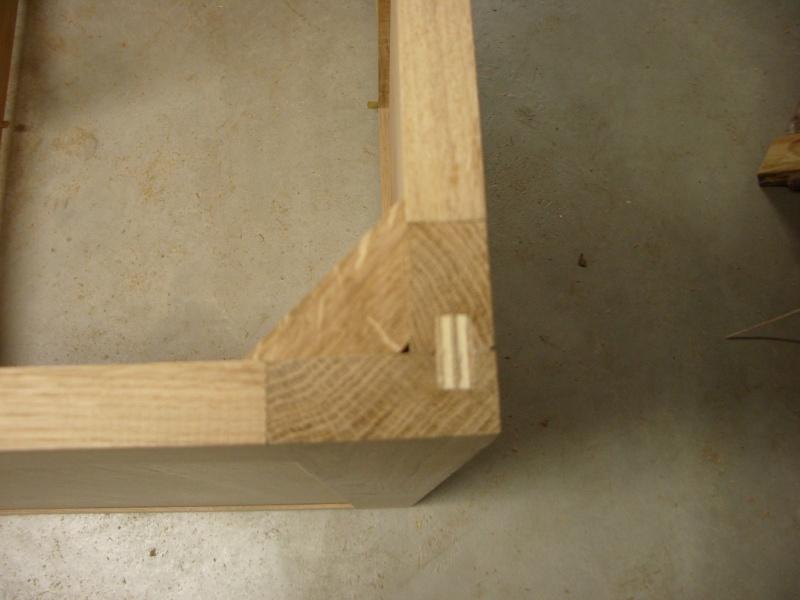 meuble en chêne et fer forgé pour l'ordi  Imgp6023