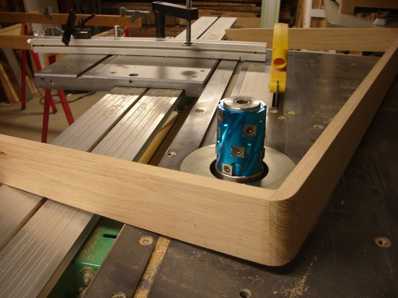 meuble en chêne et fer forgé pour l'ordi  Imgp6024