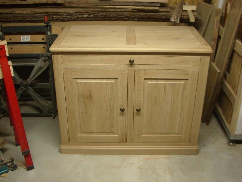 meuble en chêne et fer forgé pour l'ordi  Imgp6026