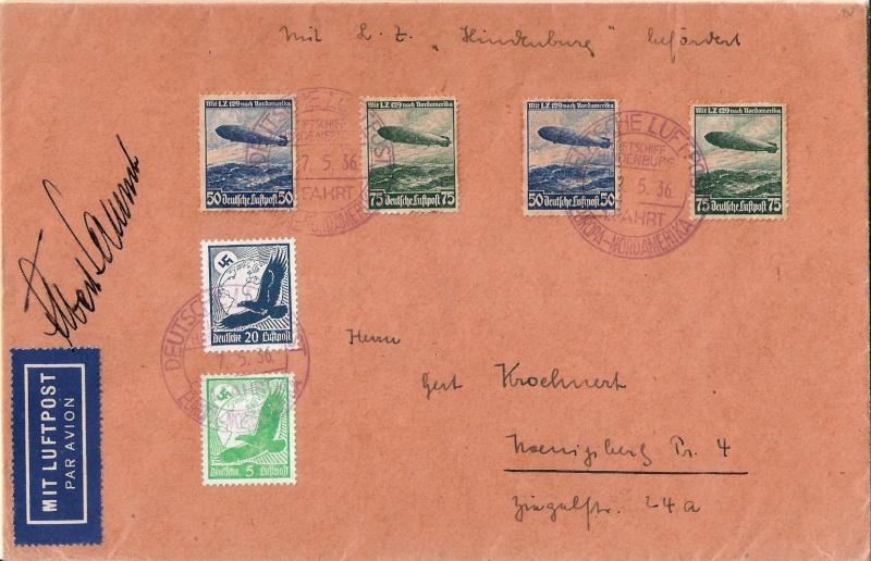 Zeppelinpost des LZ 129 - Seite 3 Scanne20