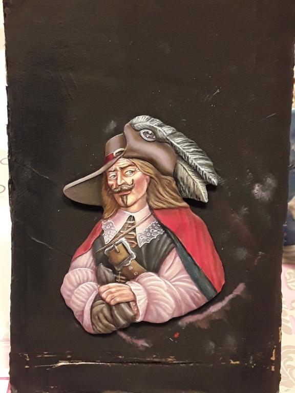 Buste  mouquetaire du cardinal Richelieu 20190224