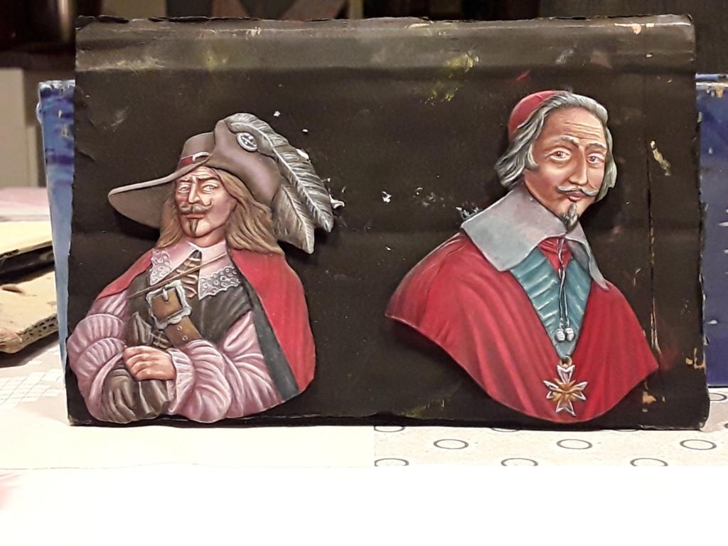 Buste  mouquetaire du cardinal Richelieu 20190339