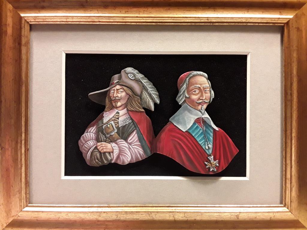 Buste  mouquetaire du cardinal Richelieu 20190412
