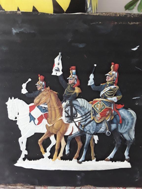 Garde républicaine  en cours de peinture 20200532