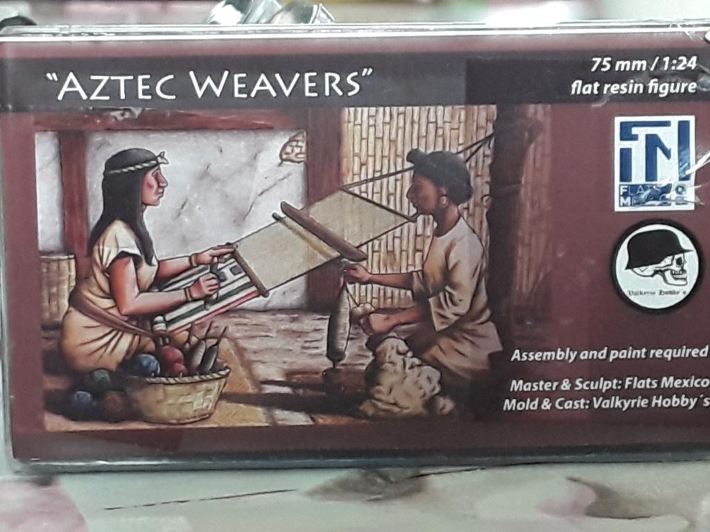 Tisseuses azteques sculptées par Maria José Bolio 20210617