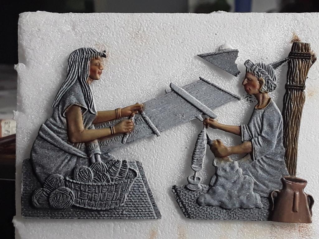 Tisseuses azteques sculptées par Maria José Bolio 20210618