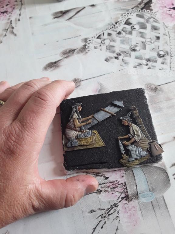 Tisseuses azteques sculptées par Maria José Bolio 20210620