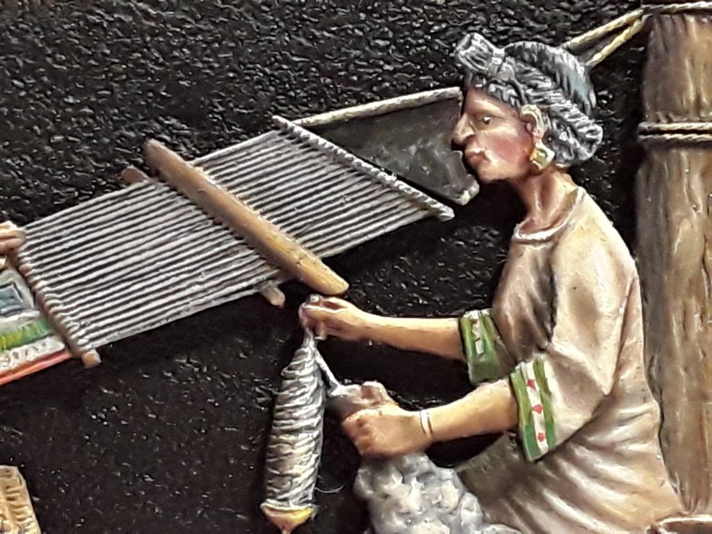 Tisseuses azteques sculptées par Maria José Bolio 20210629