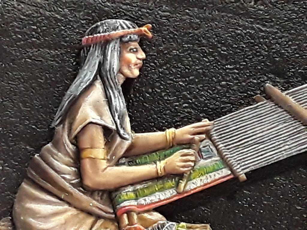 Tisseuses azteques sculptées par Maria José Bolio 20210630