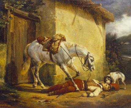 Le trompette blessé  30 mm  D après le  tableau d Horace Vernet 32928310