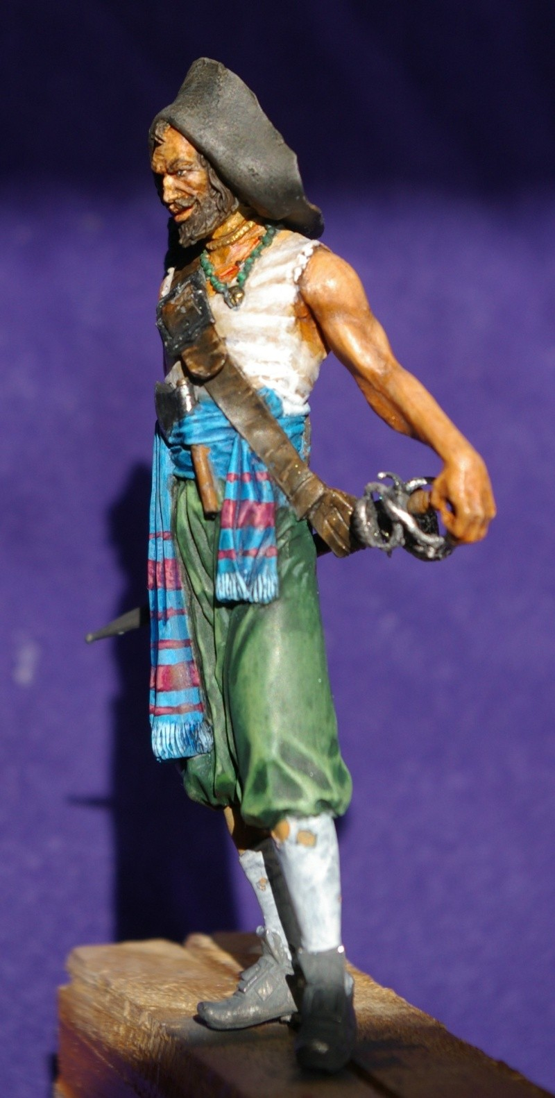 pirate 75 mm acrylique  Pirate13