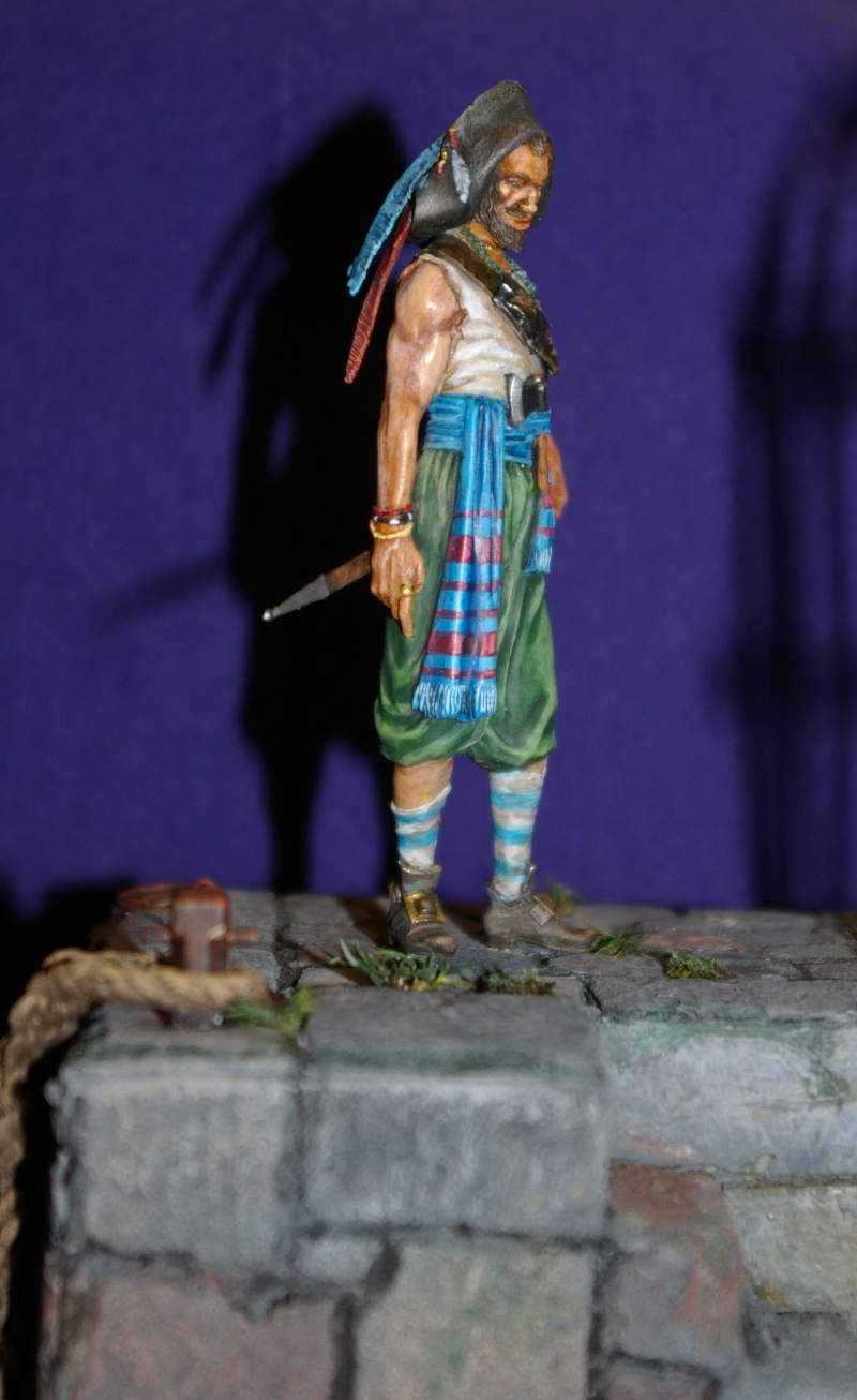 pirate 75 mm acrylique  Pirate14
