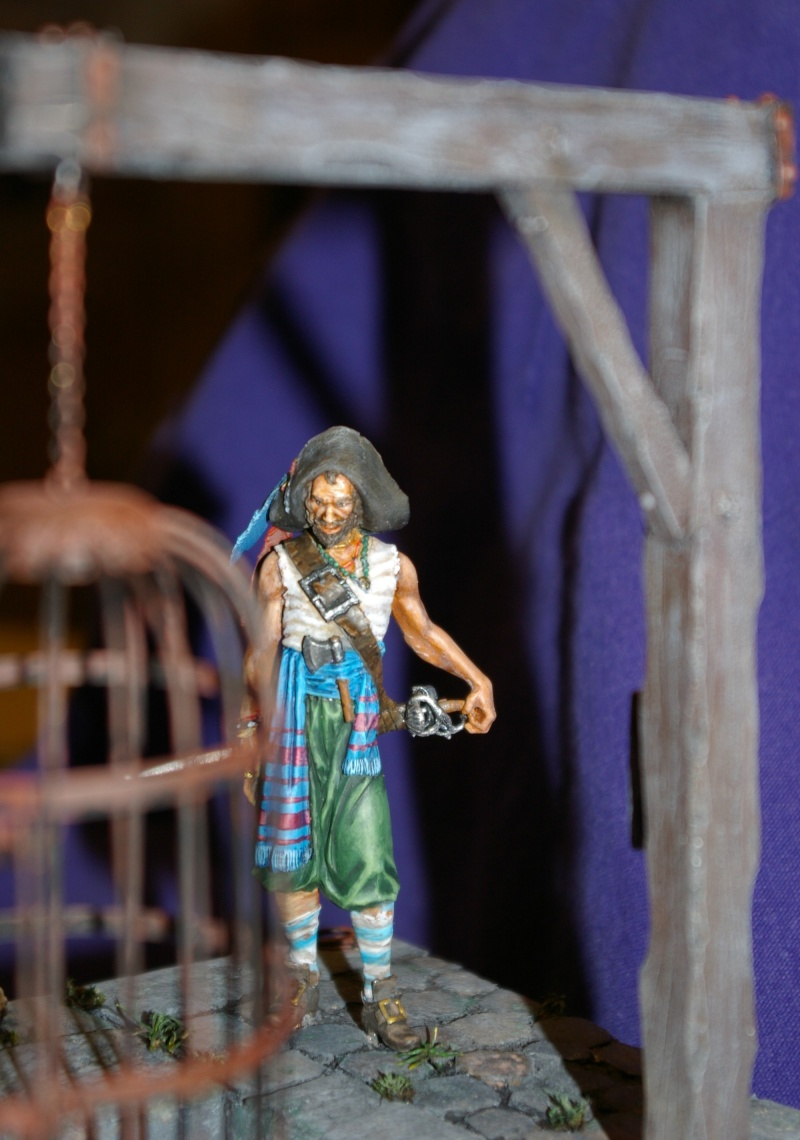 pirate 75 mm acrylique  Pirate17