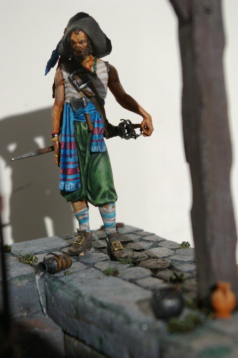 pirate 75 mm acrylique  Pirate19