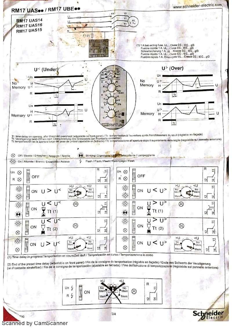 PB en electricité / protection PAC 110